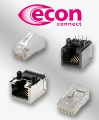 Für gute Kommunikation: Die Modularsteckverbinder von econ connect